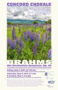 Brahms-poster