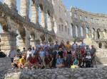 Croatia Pula colosseum